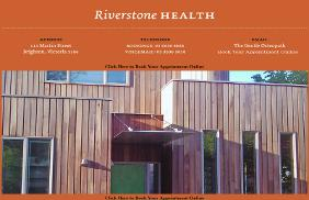 The Gentle Osteopath - Riverstone Health: Web Site Development