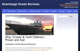 Seachange Ocean Services: Web Site Development, Lead generation, SEO - Search Engine Optimisation