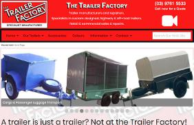 The Trailer Factory: Responsive Web Site Design and Development, SEO